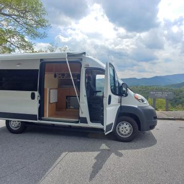 Promaster on the Blue Ridge Parkway