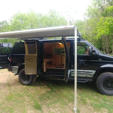 EconoBeast with awning out