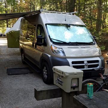The Great Bike Adventure Conversion Van