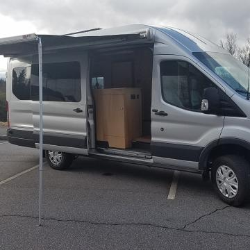 Ford Transit Luxury Land Yacht