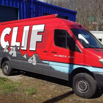 Freightliner sprinter Cliff Bar