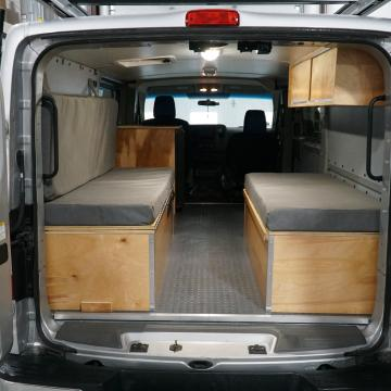 NV2500 camper conversion