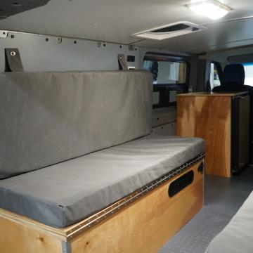 Nissan NV2500 camper conversion