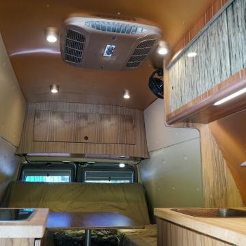 Ford E-series camper conversion