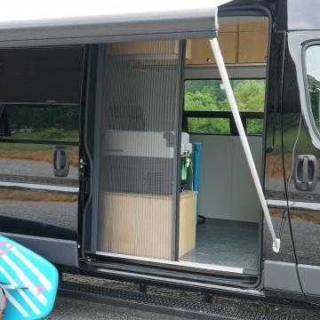 Ram ProMaster SUP conversion screen door