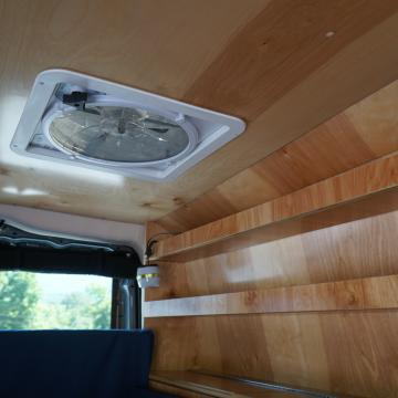 Mercedes Metris conversion by Blue Ridge Adventure Vehicles