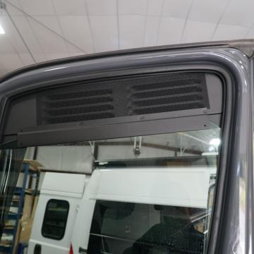 Window vent installed