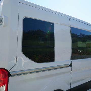 Ford Transit CR Laurence windows