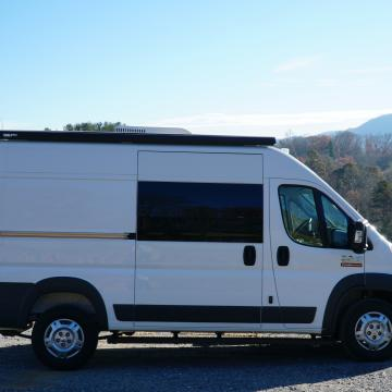 Ram ProMaster conversion