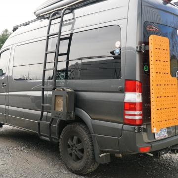 Owl Van Engineering sherpa rack