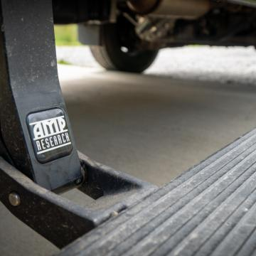 AMP research power running board