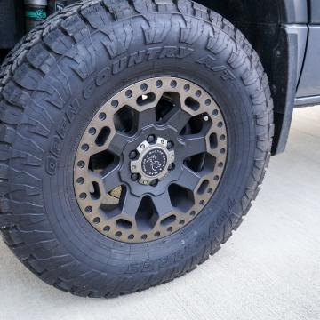 Toyo open country ATs