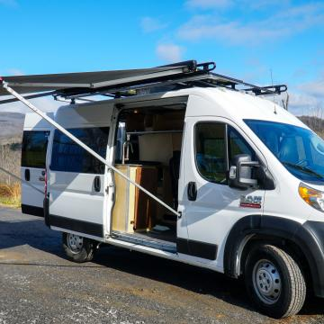 Blue Ridge Adventure Vehicles Promaster 136 high roof conversion