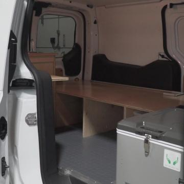 Ford Transit Connect interior view
