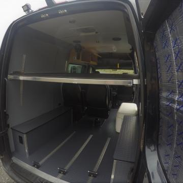 Mercedes Sprinter conversion with seating for six