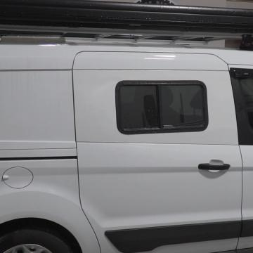 Sliding door windows transit connect