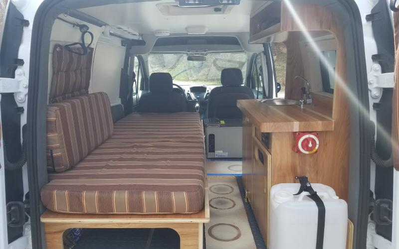 Ford Transit Connect Micro Conversion